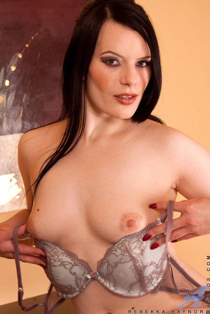 Hot Milf Rebekka Raynor Slips Off Her Business Suit At Anilos