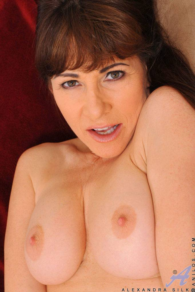 Sexy Alexandra Silk Makes Her Hairy Pussy Cum At Anilos