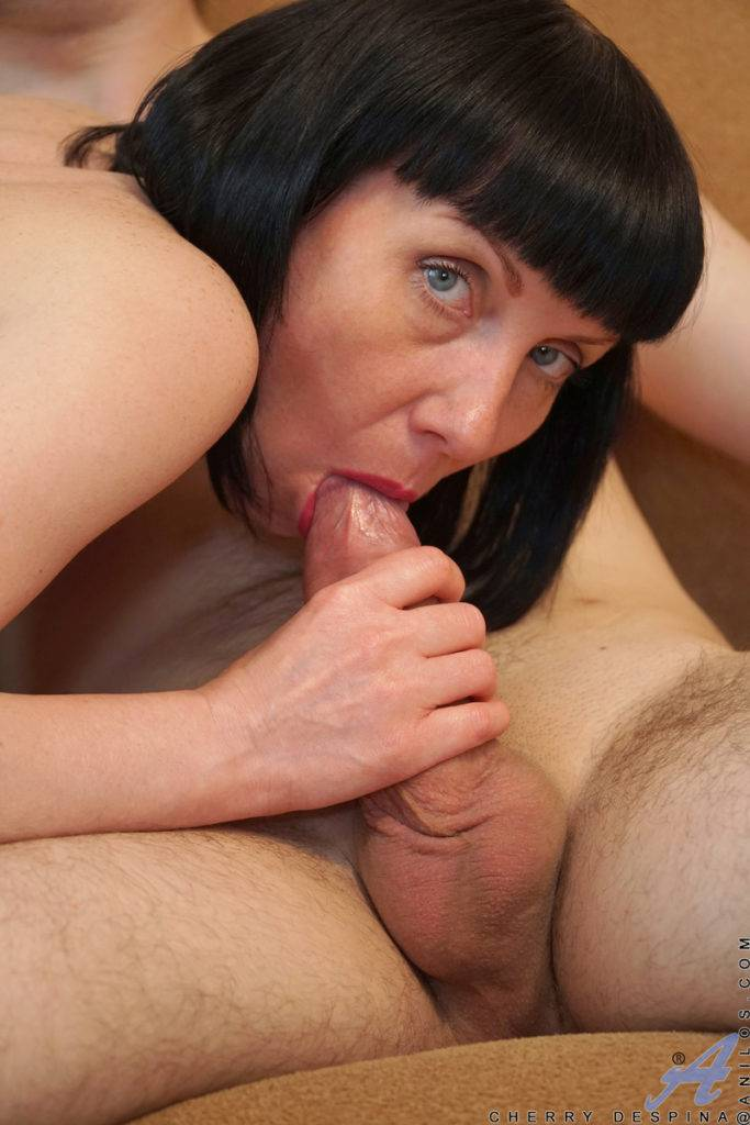 Mature Mom Cherry Despina Playing With Her Toy Boy At Anilos