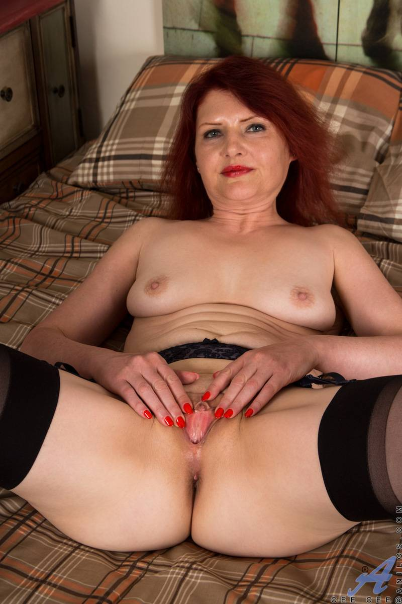 German MILF Cee Cee is ready to show you her pussy at Anilos